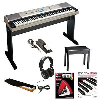 Yamaha YPG535 88 Key Piano + Bench, Pedal, Headphone & Dust Cover