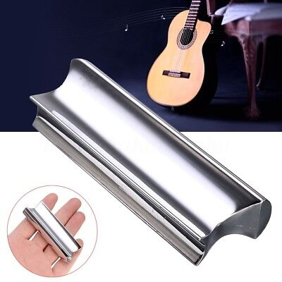 Stainless Steel Slide Dobro Tone Bar For Six-String Hawaiian Electric Guitar