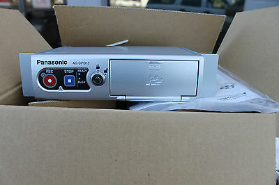 NEW PANASONIC AG-CPD15 MEMORY CARD VIDEO RECORDER WITH CABLE KIT Arbitrator