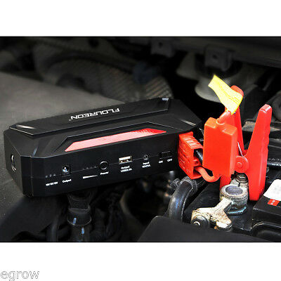 12V 8000mAh Car Motorcycle Jump Starter Pack Booster Charger Battery Power Bank