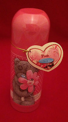 Me To You Bear Tatty Teddy Pink Flower Flask Gift