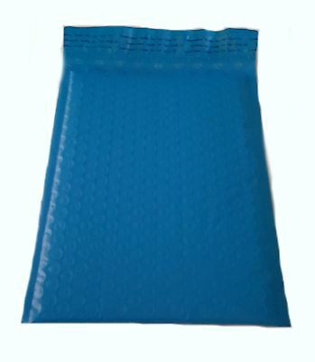 250 6x10 BLUE Poly Bubble Mailer Envelope Shipping Wrap Air Mailing Bags 6.5x10