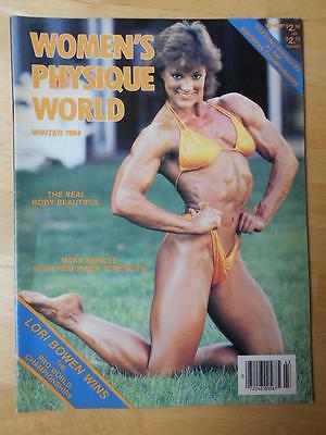 Women 39 S Physique World Female Bodybuilding Muscle Magazine