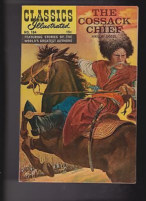Classics Illustrated Comic Book #164 The Cossack Chief HRN #164