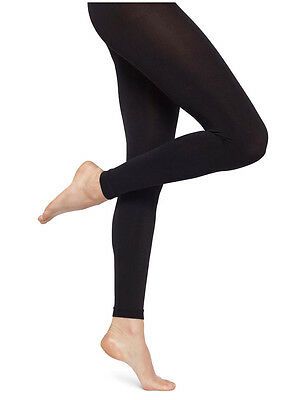 New Ladies Girls Reg & Plus Sz Winter Warming Fleece Lined Footless Tights 10-20