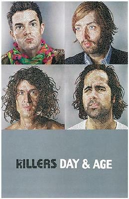 The Killers Day And Age 2008 Promo Poster