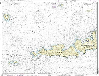 NOAA Chart Atka Island, western part 7th Edition 16486