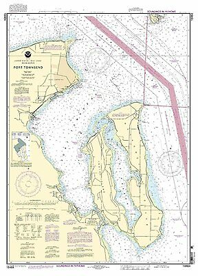 NOAA Chart Port Townsend 25th Edition 18464