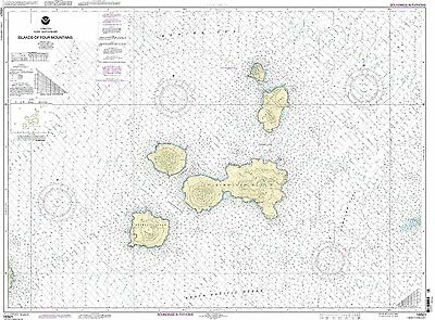 NOAA Chart Islands of Four Mountains 7th Edition 16501