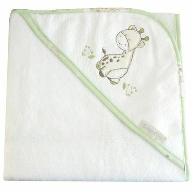 Bubba Blue Playtime Embroidered Hooded Towel