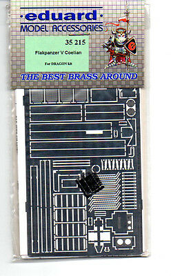 Eduard 35215 - 1/35 Photoetched Fotoincisioni Flakpanzer V Coelian (Dragon)