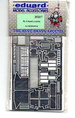 EDUARD 35217 - 1/35 PHOTOETCHED FOTOINCISIONI Pz.II Ausf.L LUCHS (TECHMOD)