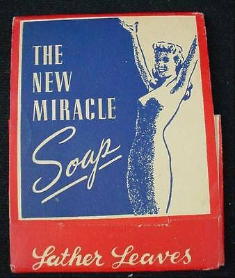 Lather Leaves The New Miracle Soap Art Deco Advertising Graphics