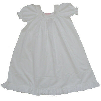 100% Cotton Shortsleeve Embroidered Nightdress - Clementine-Powell Craft 4-12yrs