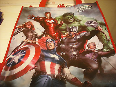 1 Marvel Comics AVENGERS ASSEMBLE Reusable Shopping Tote Bag*NEW WITH TAGS