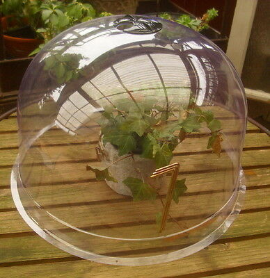 GARDEN HOTBED GREENHOUSE DOME BELL 35cm DIAMETER COUNTRY STYLE DECORATION NEW