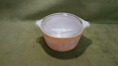 Pyrex Ceramic and Glass Casserole Dish AND Lid Cookware Baking Kitchen Home vtg