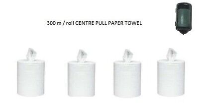 6 rolls x 300 m Centre Feed / centre pull paper towel