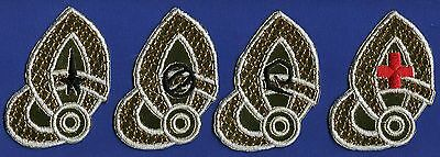 Classic TOS Star Trek USS Constellation Embroidered Patch Set  [4]