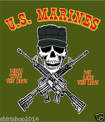 USMC United States Marine Corps Decal Sticker 4""
