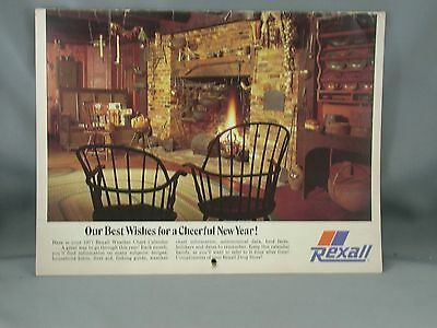 1977 Rexall Drug Stores Weather Chart Calendar Recipes Hints Advertising