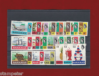 1971 Bahamas Definitives SG 359/473 Set of 22 MUH