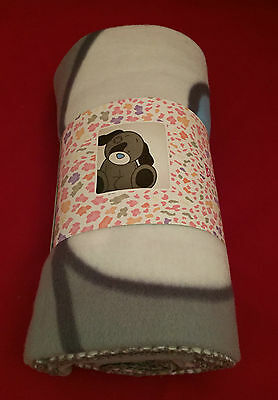 Me To You Bear Tatty Teddy My Blue Nose Friends Patch The Dog Fleece Blanket