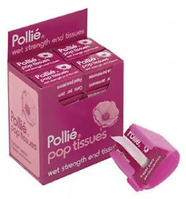 Pollié Pop Tissues - High Quality, Wet Strength End, For Use With All Perms