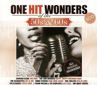 Various Artists - U.S. One-Hit Wonders of the 50's & 60's / Various [New CD] Hol