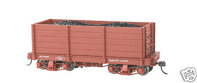 Bachmann On30 18 ft. High-Side Gondola - Oxide Red, Data Only (2 per box) 26541