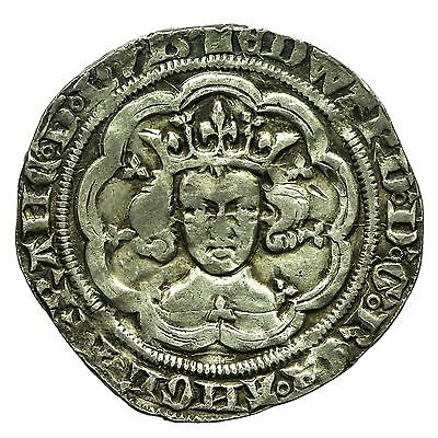 Edward Iii Hammered Silver Groat  S1565