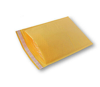 Box Of 300 Kraft Bubble Mailers Padded Envelope Size #000 - 4X8 - Canada