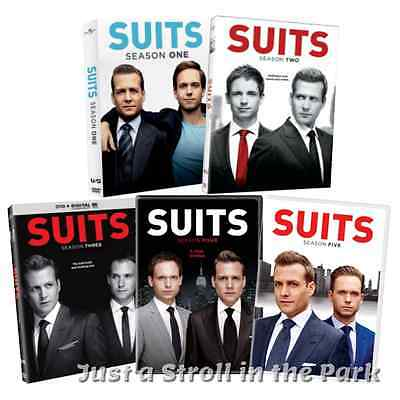 Suits Complete TV Series Seasons 1 2 3 4 5 Boxed / DVD Set(s) NEW!
