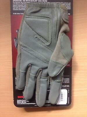 Hatch Operator HardKnuckle SOGHK350 Tactical Gloves Green NEW