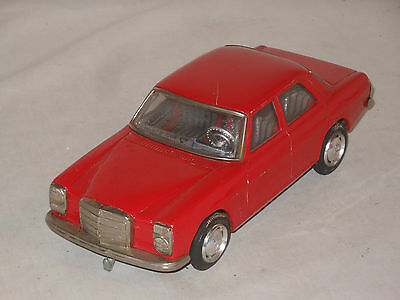 Tayo Mercedes Benz  - Strich 8 W 114 115 - Vintage Tin Toy Tinplate - Japan