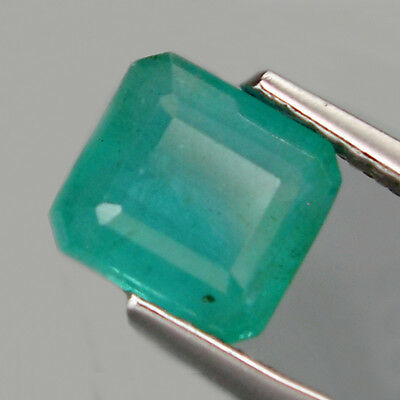1.34 ct. Feiner 6.5 x 6.2 mm Kolumbien Oktagon Smaragd