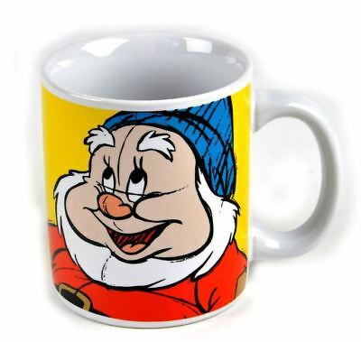 Official Disney The Seven Dwarfs Happy Mug Coffee Cup New In Gift Box