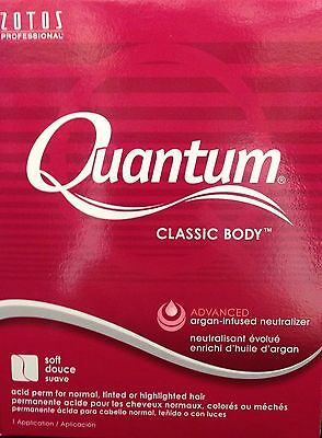 Zotos Quantum Classic Body Acid Perm For Normal Or Tinted Hair Soft