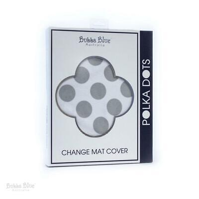 Bubba Blue Polka Dots Change Mat Cover -2 pack