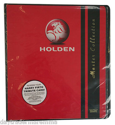 2014 Holden 3rd Series Collector album & redemption for Harry Firth tribute card