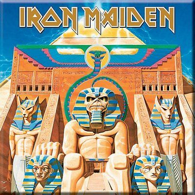 Official IRON MAIDEN Powerslave Fridge Magnet Aces High 2 Minutes To Midnight