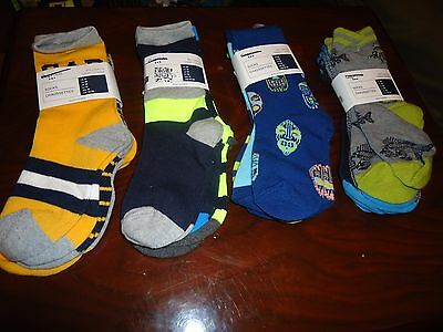 3 Pairs Gap Kids Boys Youth Socks Sz S M L Choose Design Color NWT Free Ship