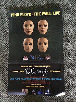PINK FLOYD: The Wall Live, Promo Poster, Rare!