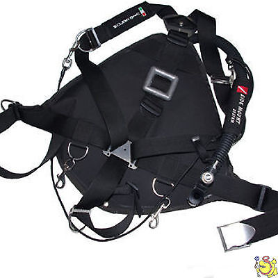 "ITA jacket BCD Scuba One side Mount "" Mangusta "" 8 litri"