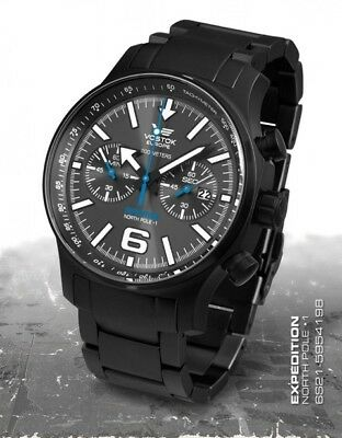Vostok Europe Expedition Nordpol 1 Chrono 6S21-5954198b