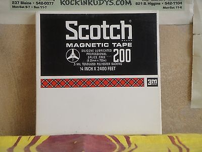 7 Inch Reel To Reel Tape - Scotch Magnetic Tape 200