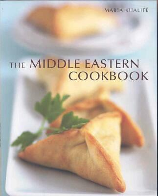 The Middle Eastern Cookbook by Maria Khalife Paperback Book (English)