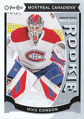 15/16 O-Pee-Chee Opc Update Rookie Rc #U26 Mike Condon Canadiens *15048