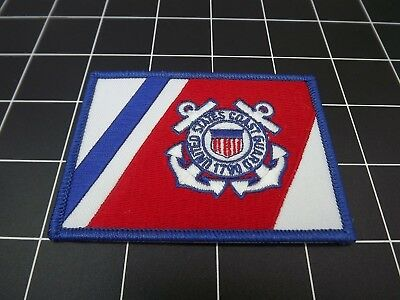 """United States Coast Guard Flag Iron-On Patch Brand New (2-1/2"""" X 3-1/2"""")"""