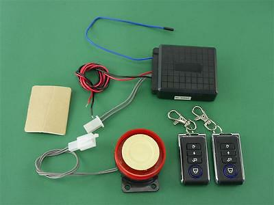 Motorcycle Alarm with radio remote control for ex. GL1200 GL1500 GL1800 Goldwing
